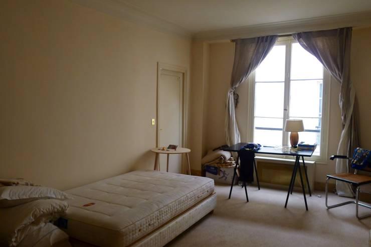 klasieke Slaapkamer door Lichelle Silvestry Interiors