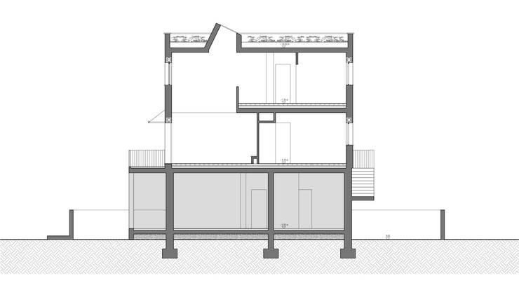 房子 by Conzinu Desteghene Architetti