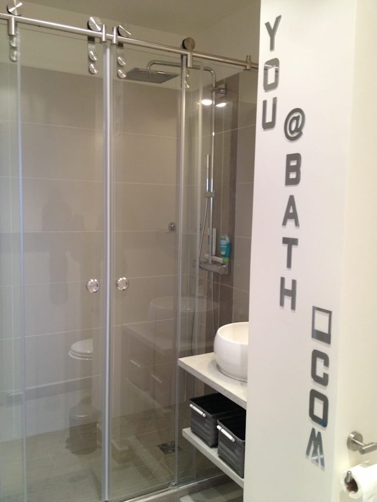 modern Bathroom by Texture Designed by G.