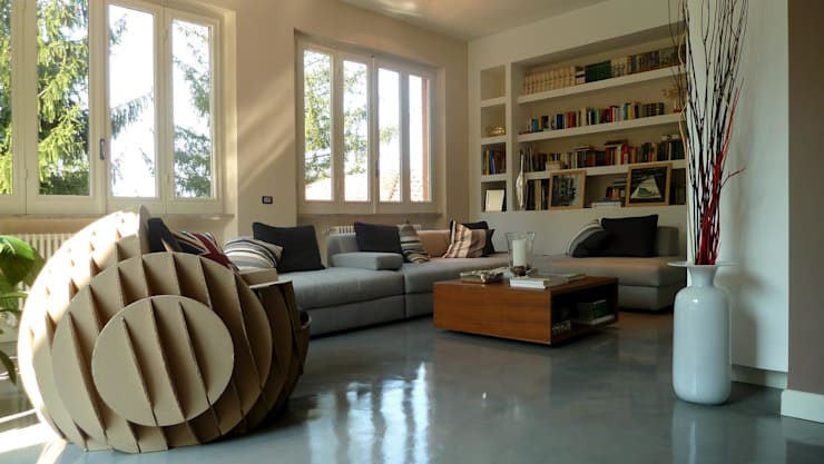 Living room by Blocco 8 Architettura