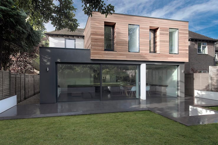 Casas de estilo  por AR Design Studio
