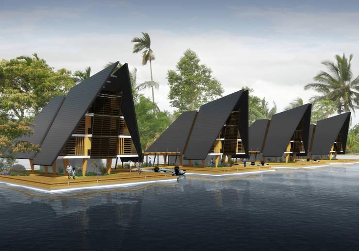 Jungle House & Jungle Houseboat:  in stile  di Torrisi & Procopio Architetti