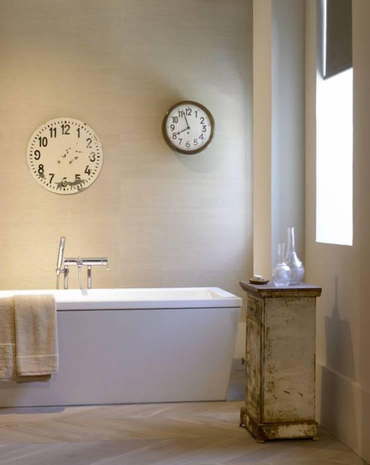 Suite en Tribeca: Baños de estilo  de BARASONA Diseño y Comunicacion