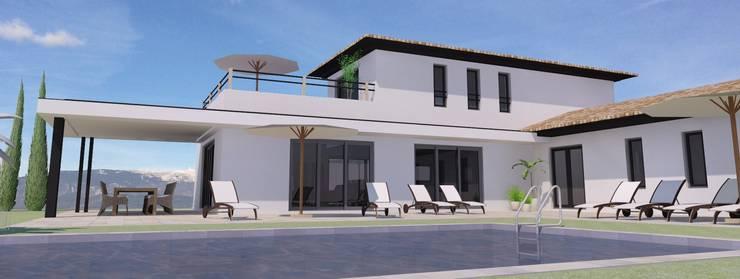 Villa Blauvac: Maisons de style  par Villasophie