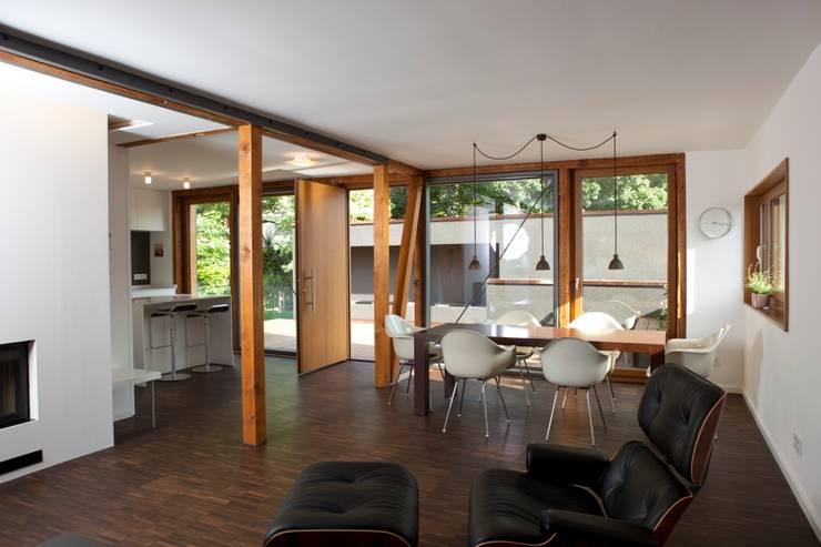 Nachher Bilder – Umbau:  Esszimmer von Holzerarchitekten,