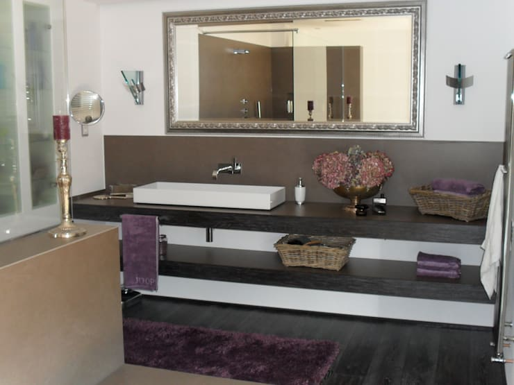 Architekturbüro Sauer-Scholta의  욕실