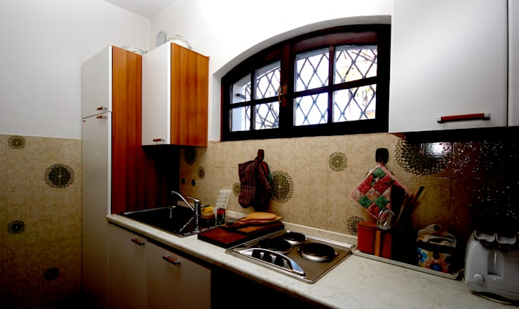 Kitchen by Marco Barbero, Rustic