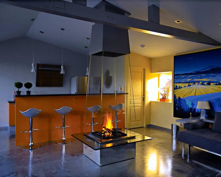 Salas de estilo moderno por Bloch Design