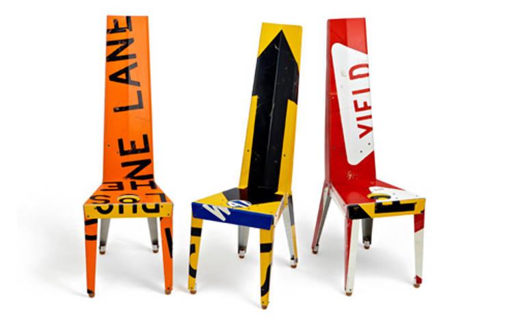 Transit Chairs + Tables: Salon de style de style eclectique par Outdoorz Gallery
