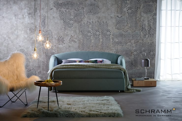 Camera da letto in stile in stile Eclettico di Zimmermanns Kreatives Wohnen