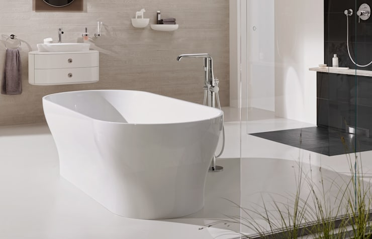 Armaturenlinie Essence: minimalistische Badezimmer von Grohe AG