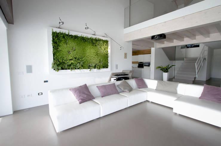Projekty,  Salon zaprojektowane przez Architettura & Servizi