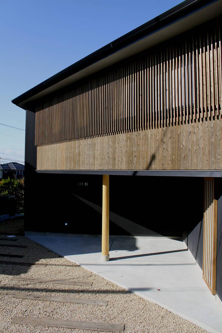 外観: 秀田建築設計事務所が手掛けた家です。