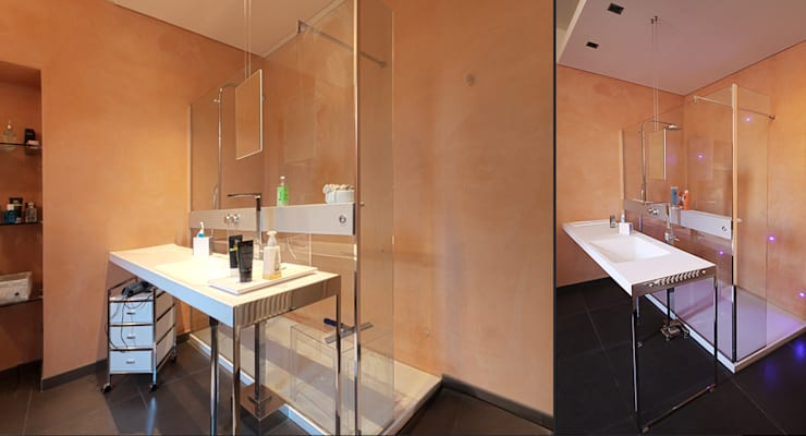 Private Flat APP_G_VA: Bagno in stile  di Diego Bortolato Architetto