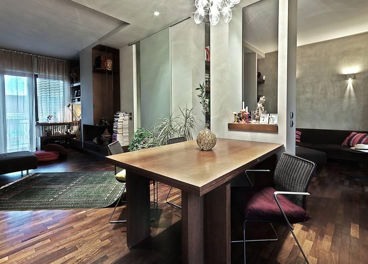 Private Flat APP_P_VA: Studio in stile in stile Moderno di Diego Bortolato Architetto