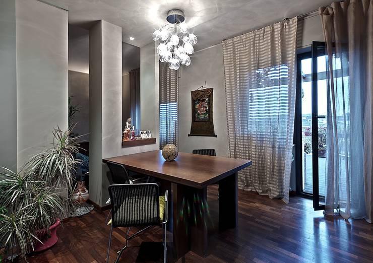 Private Flat APP_P_VA: Studio in stile  di Diego Bortolato Architetto