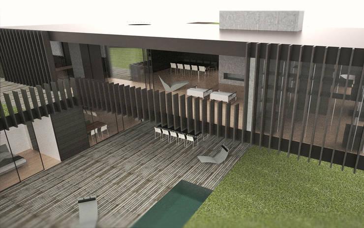 de estilo  de fabio ferrini architetto, Moderno