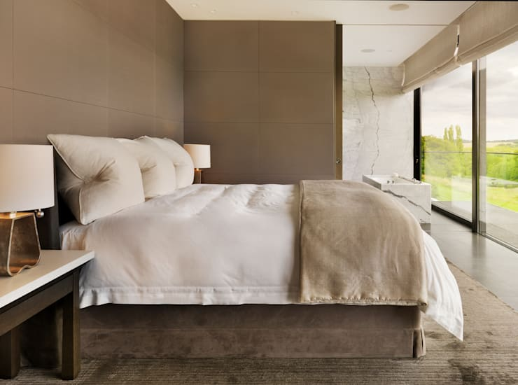Bedroom by Gregory Phillips Architects