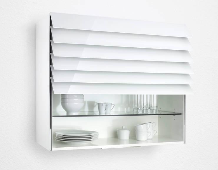 Сенсорные стеклянные жалюзи Climber: Кухня в . Автор – Rauvolet