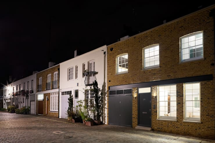 Hyde Park Mews: modern Houses by Gregory Phillips Architects