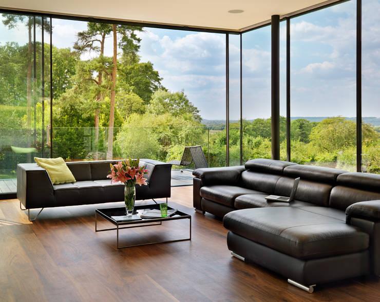 Salas de estar  por Gregory Phillips Architects