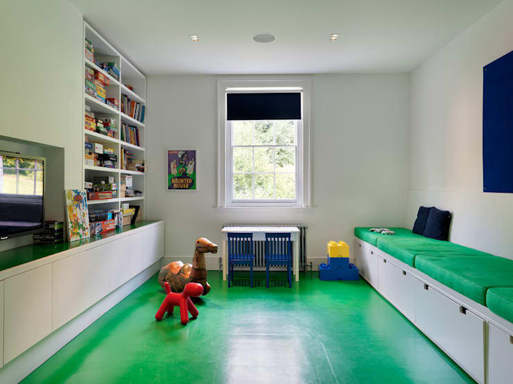 Guildford: modern Nursery/kid's room by Gregory Phillips Architects