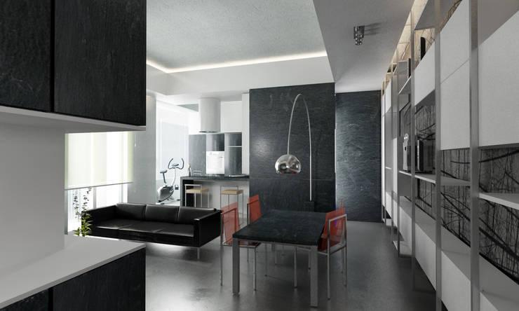 Salas de jantar  por studioLO architetti