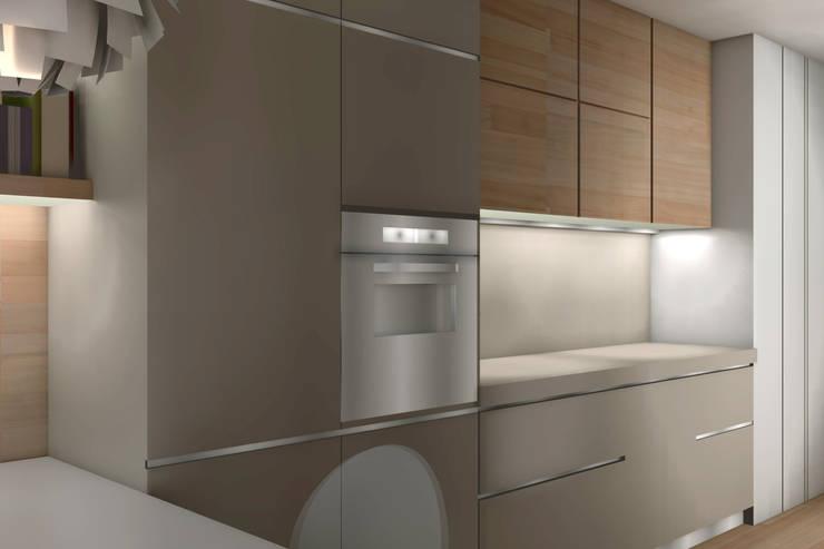ambienti di qualità in piccoli spazi: Cucina in stile  di Giussani Patrizia