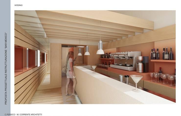 """Bar """"MEXICO"""": Negozi & Locali commerciali in stile  di studioLO architetti"""