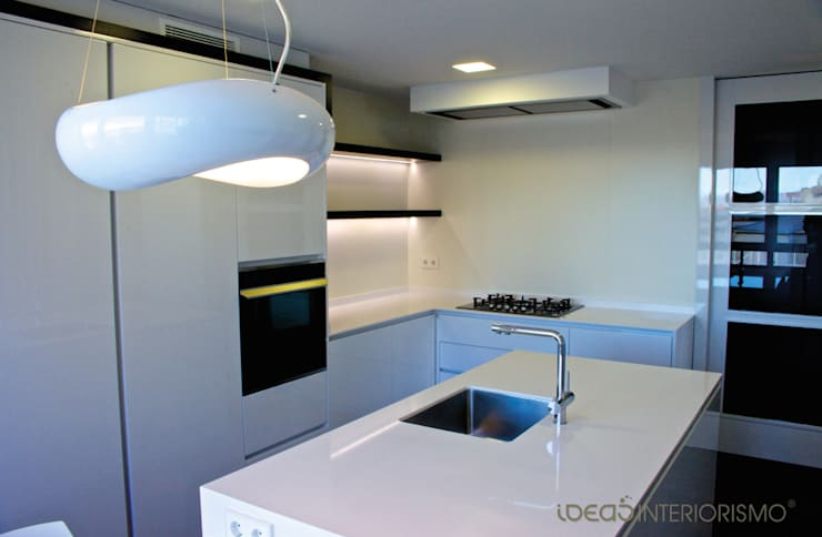 Casas de estilo  por Ideas Interiorismo Exclusivo, SLU