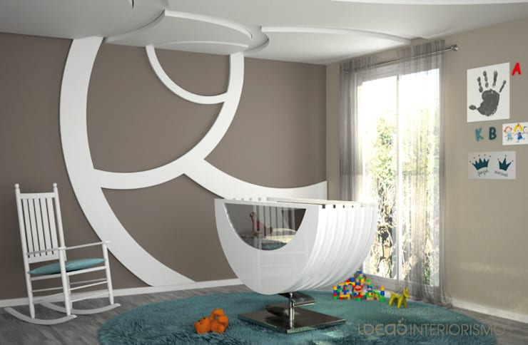 Chambre d'enfants de style  par Ideas Interiorismo Exclusivo, SLU