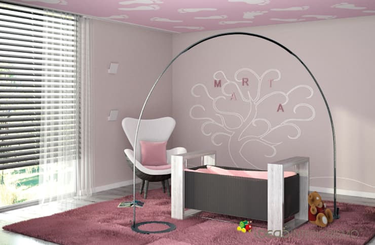 Nursery/kid's room تنفيذ Ideas Interiorismo Exclusivo, SLU