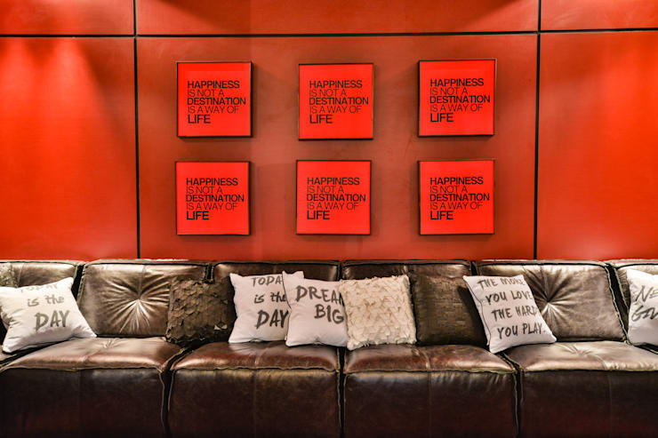 CASA COR 2014: Salas de estar  por Bender Arquitetura