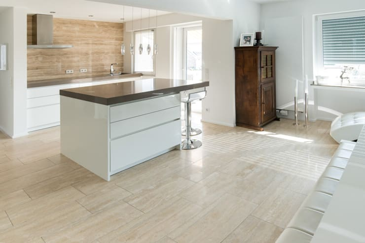 industriële Keuken door Pientka - Faszination Naturstein