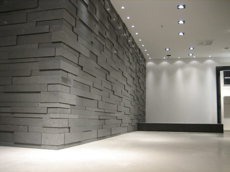 Espacios comerciales de estilo  por Pientka - Faszination Naturstein