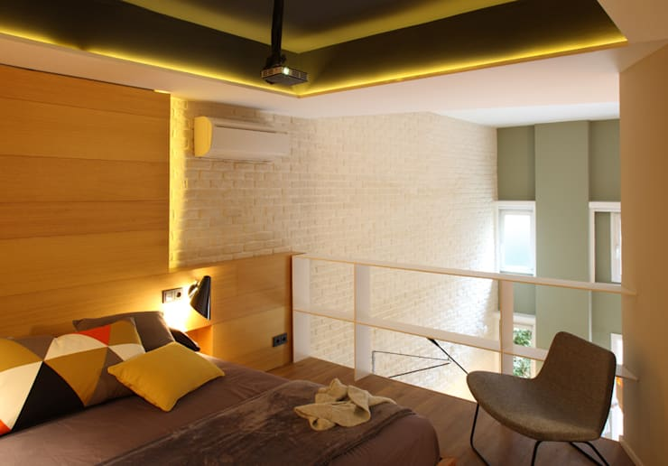 moderne Slaapkamer door Meritxell Ribé - The Room Studio