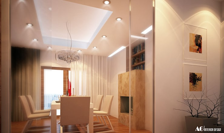 Comedores de estilo  por AG Interior Design