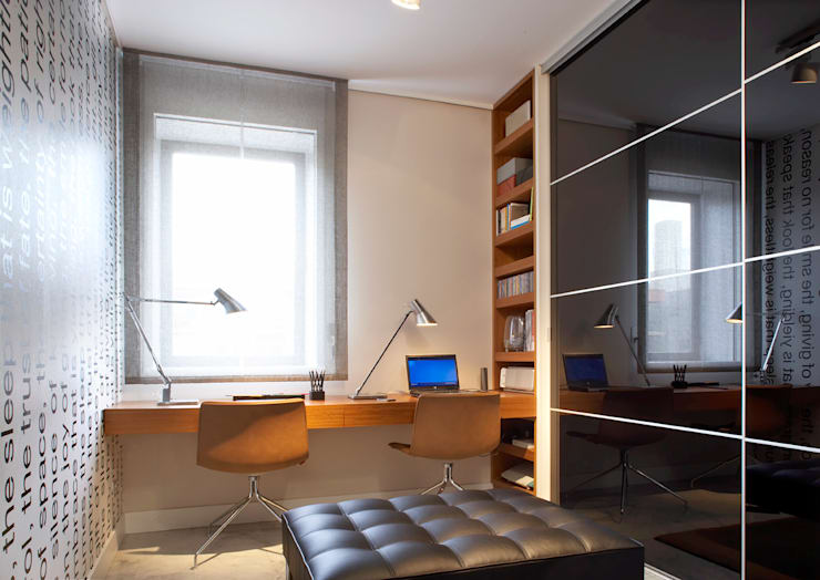 VIVIENDA ICARIA: Dormitorios de estilo  de The Room Studio