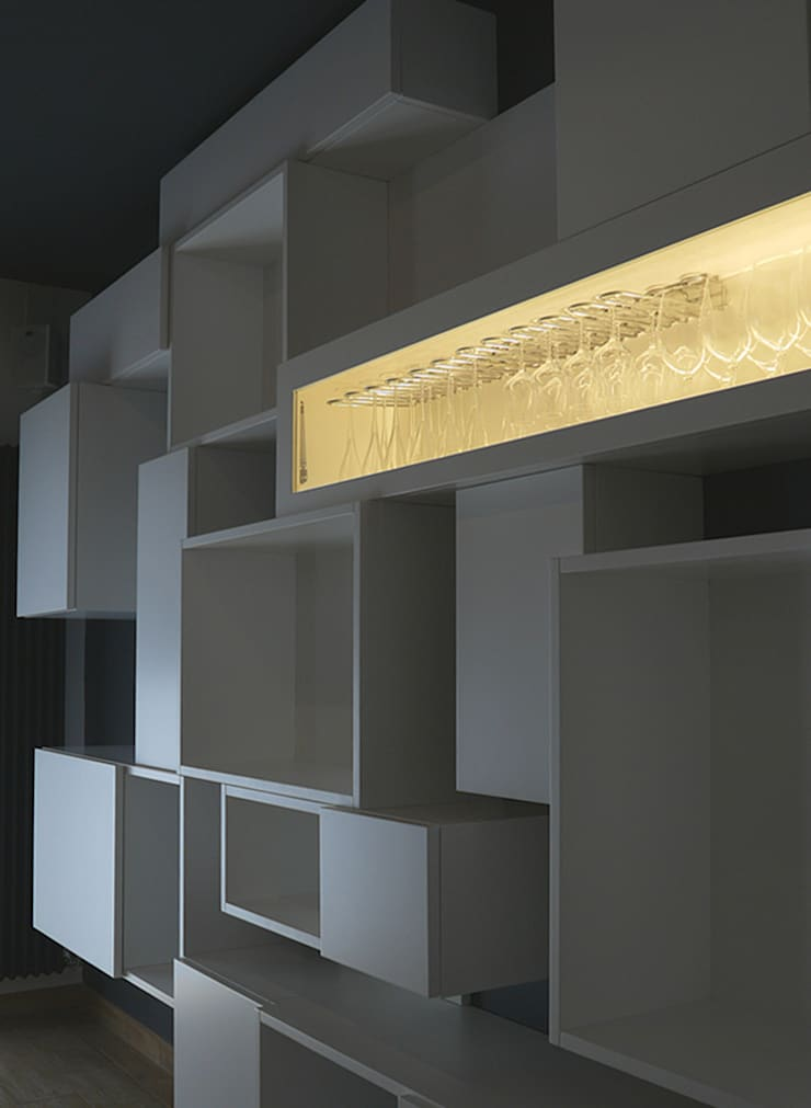 d2w studio:  tarz Oturma Odası