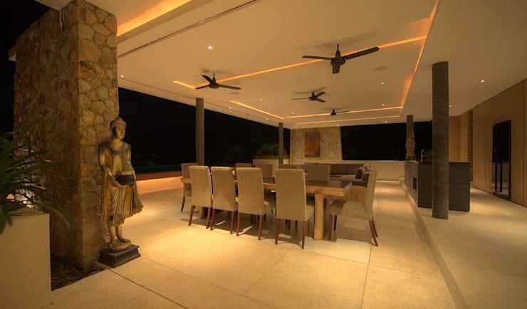 Dining room: asian Dining room by Alissa Ugolini - homify UK
