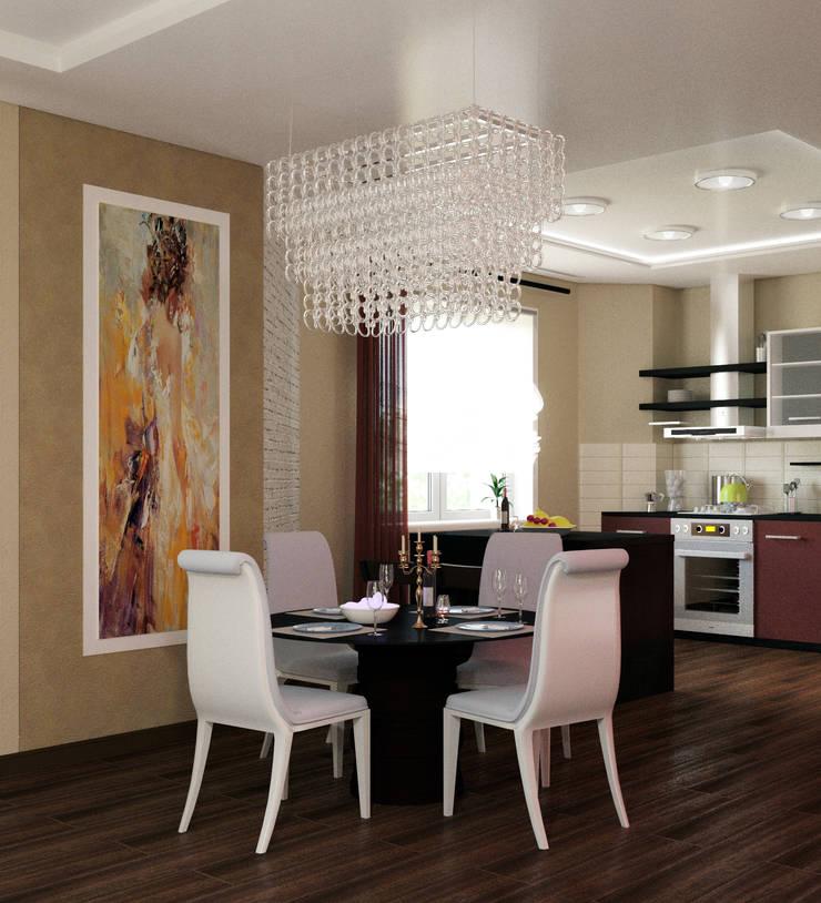 кухня - столовая:  в . Автор – AD-studio