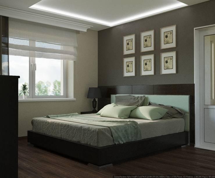 Современный уют: Спальни в . Автор – AD-studio
