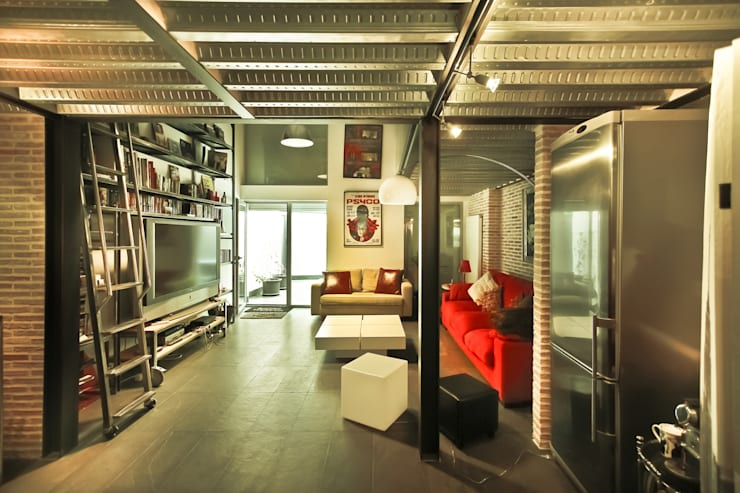 Soggiorno in stile  di Pablo Echávarri Arquitectura