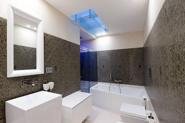 Living room by ARCHILAB architettura e design