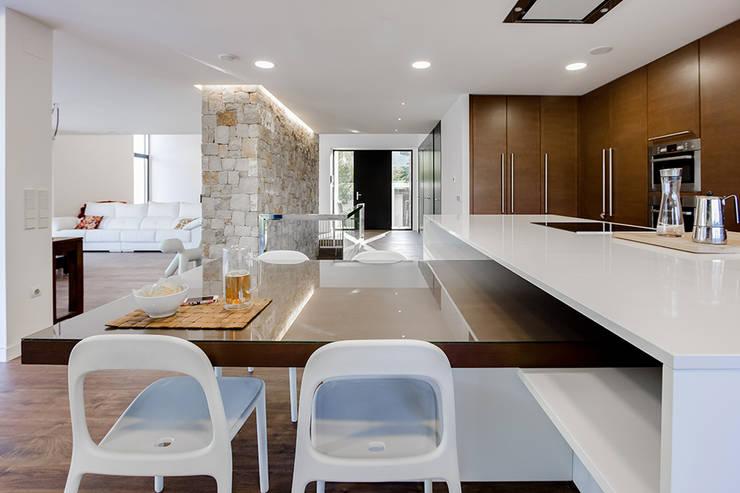 Projekty,  Kuchnia zaprojektowane przez Chiralt Arquitectos