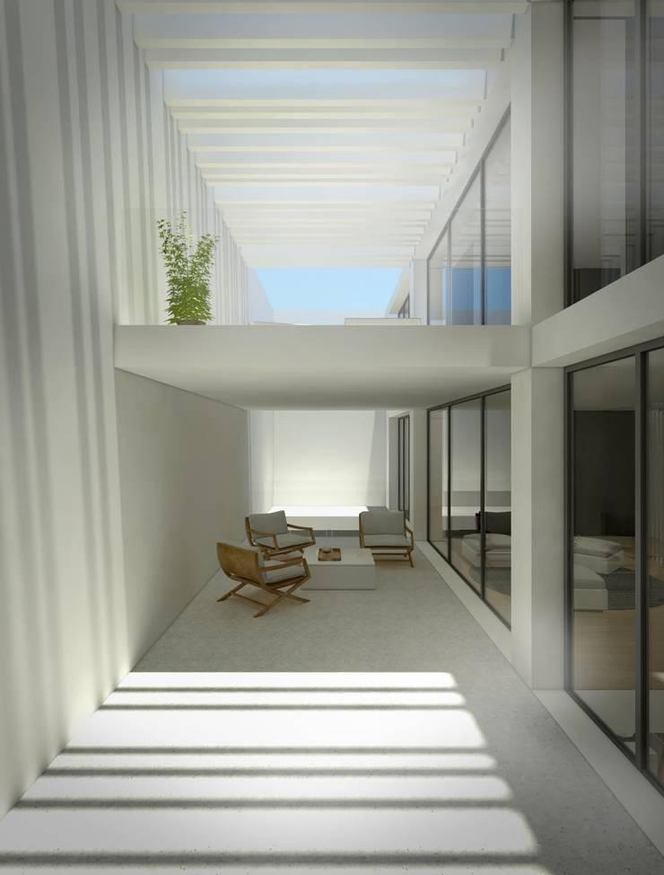 In & Out: Casas de estilo  de Binomio Estudio