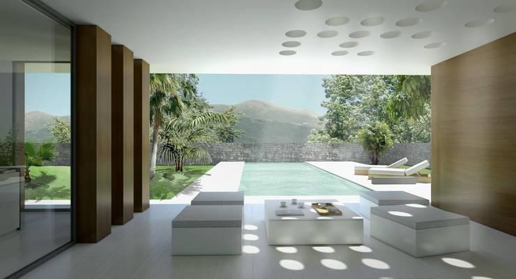 Casas de estilo  por Binomio Estudio