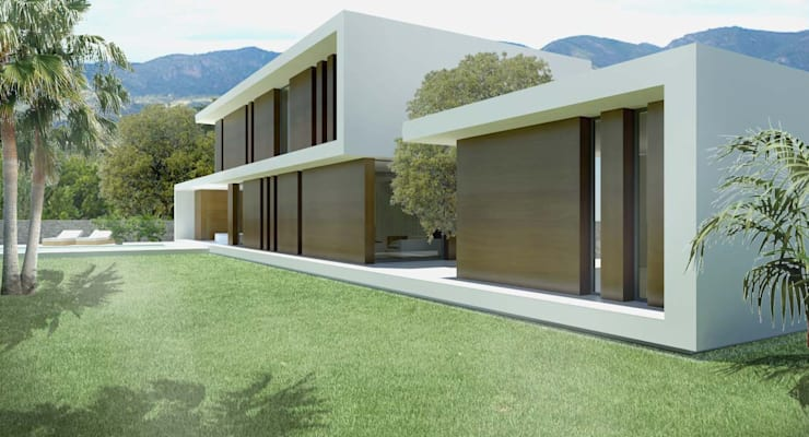 Casas de estilo  por Binomio Estudio, Moderno