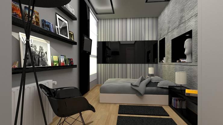 Reforma de Apto.: Dormitorios de estilo  de AG INTERIORISMO