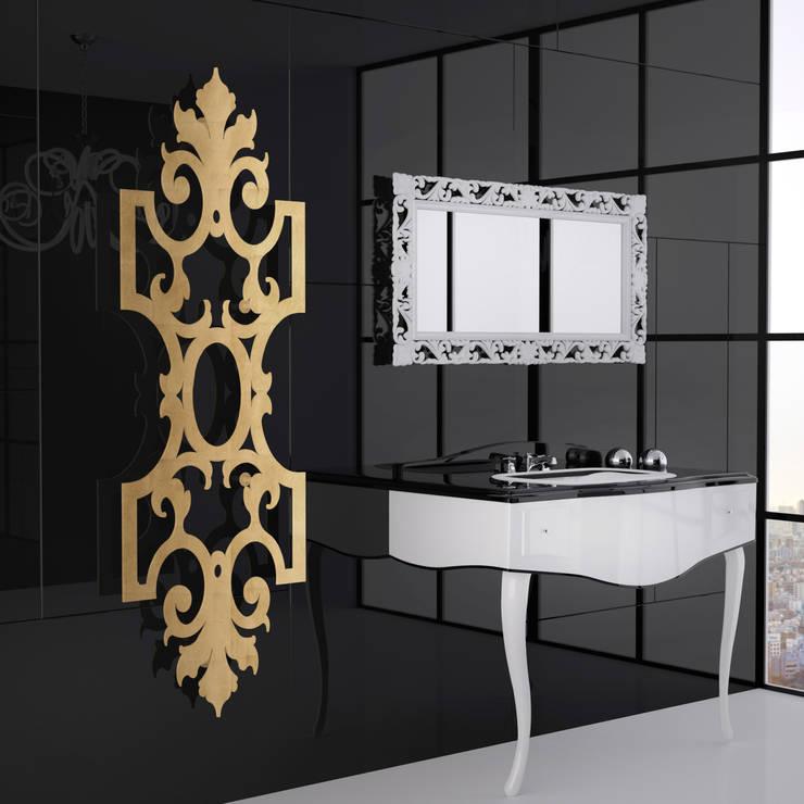VD 1333: Couloir, entrée, escaliers de style de style eclectique par Varela  Design